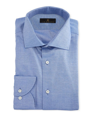 Image 1 of 2: Gold Label Cotton-Cashmere Dress Shirt