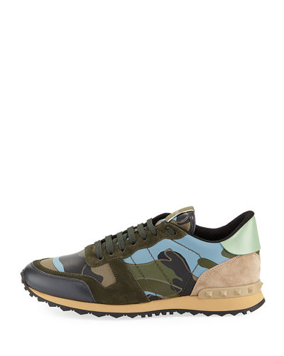 Men's Rockrunner Camu Trainer Sneakers