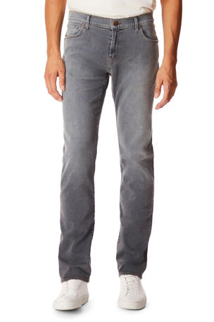 Versace Collection Trend Mens Burgundy Light Jeans