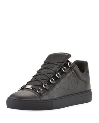 Men's Arena Leather Low-Top Sneaker