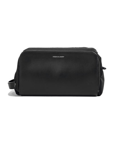 hook + Albert Leather Toiletry Travel Case