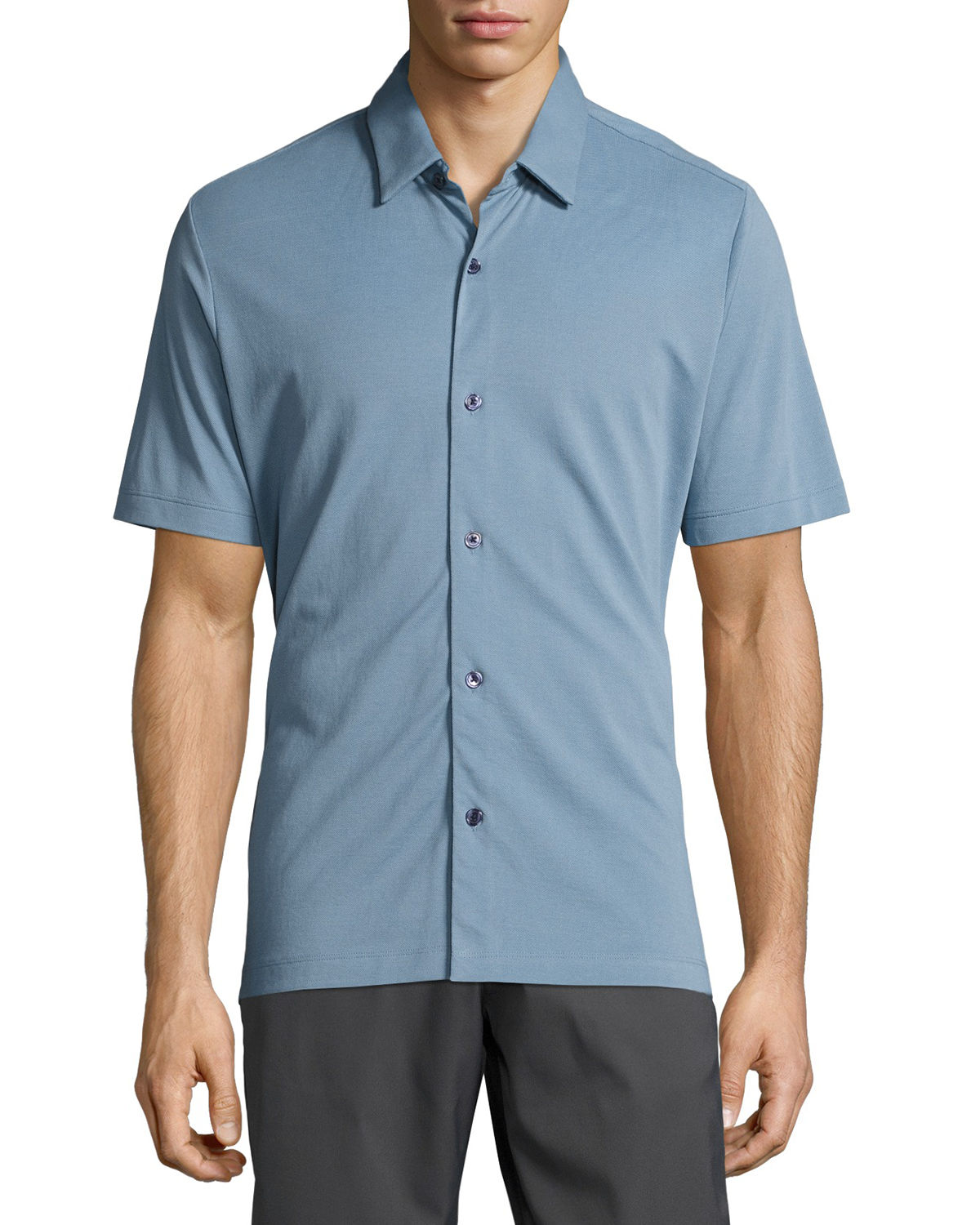Air Pique Short-Sleeve Shirt