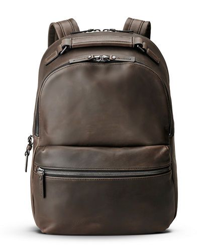 Runwell Leather Backpack