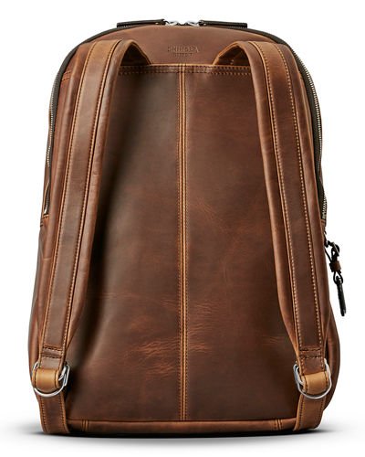 Men's Runwell Leather Backpack