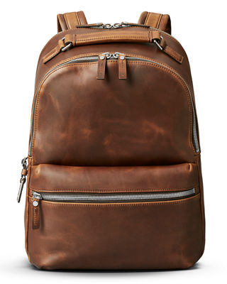 Shinola Men's Runwell Leather Backpack