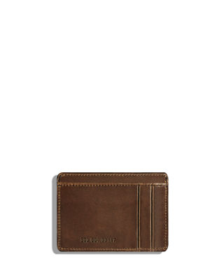 Six-Pocket Leather Card Case