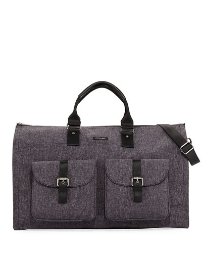 hook + Albert Melange Carry-On Garment Weekender Bag