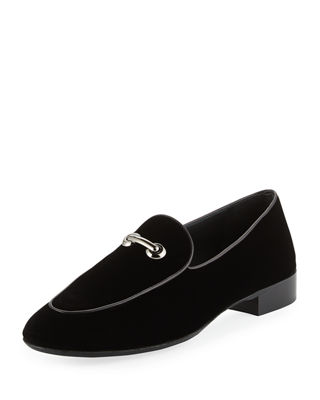 Image 1 of 3: Velvet Bit Loafer