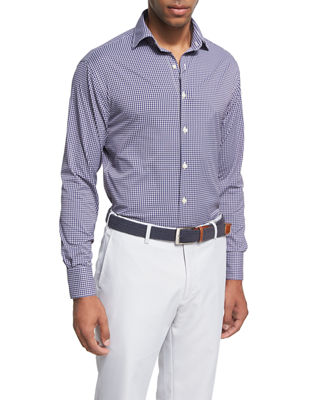 Crown Sport Statler Performance Check Shirt