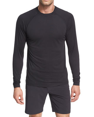Peter Millar Crown Active Long-Sleeve T-Shirt