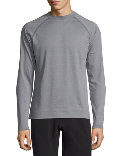 Peter Millar T-shirts CROWN ACTIVE LONG-SLEEVE T-SHIRT