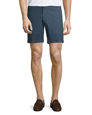 Soft Touch Stretch Twill Shorts, Navy