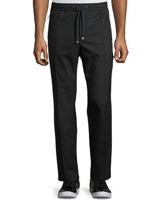 Dolce & Gabbana Wool-Cotton Jogger Pants