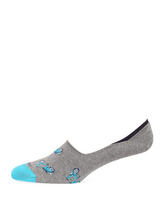 Marcoliani Invisible Touch Scooter No-Show Socks