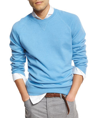 Brunello Cucinelli Athletic Crewneck Sweater