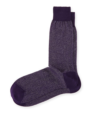 Glitter Formal Socks