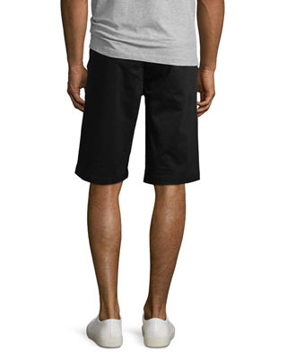 Image 3 of 4: Griffin Flat-Front Shorts