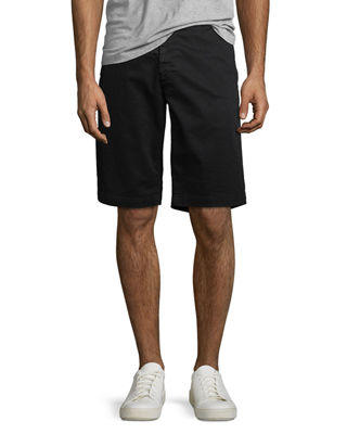 Image 1 of 4: Griffin Flat-Front Shorts