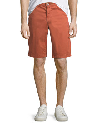 Griffin Flat-Front Shorts