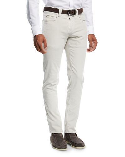 Loro Piana Five-Pocket Slim-Fit Pants and Matching Items