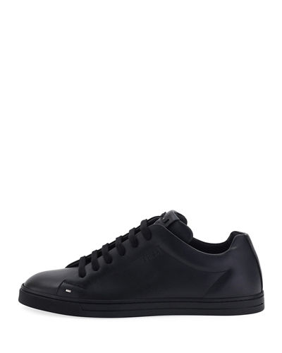 Men's Bag Bugs Leather Low-Top Sneakers