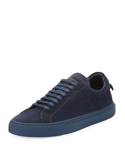 Men's Urban Knot Suede Low-Top Sneakers