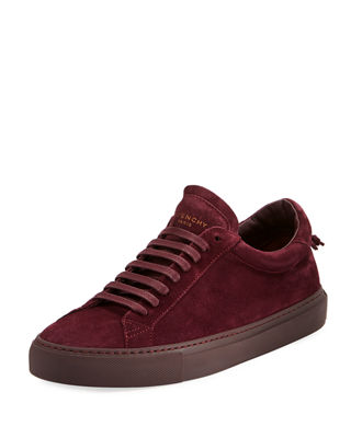 Mens Mens Urban Knots Suede & Leather Sneakers Givenchy