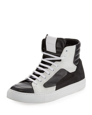 Image 1 of 6: Artel Leather High-Top Sneaker