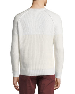 Image 2 of 2: English-Rib Cashmere-Silk Sweater