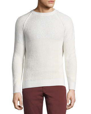 Image 1 of 2: English-Rib Cashmere-Silk Sweater