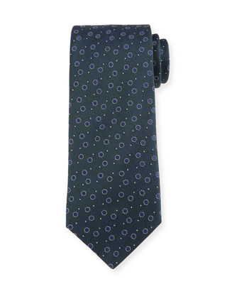 Charvet Textured Bean Silk Tie