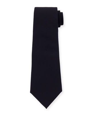 Image 1 of 2: Solid Wool Tie