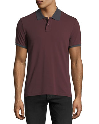 Moncler Cotton Pique Polo Shirt