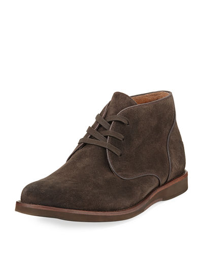 John Varvatos Brooklyn Suede Chukka Boot