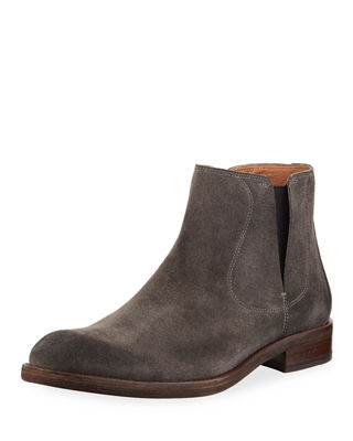 Image 1 of 3: Waverly Suede Chelsea Boot