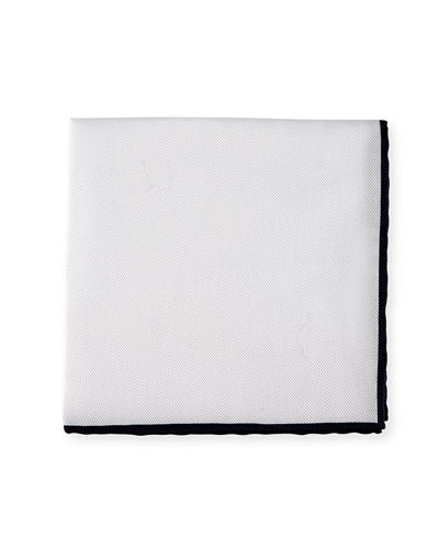 Cotton Pique Pocket Square