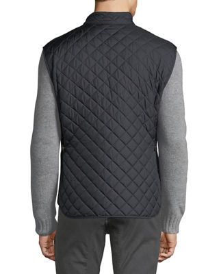 Image 2 of 3: Quilted Polyester Vest