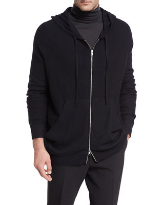Vince Oversized Boiled Cashmere Hoodie