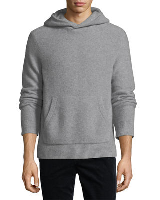Boiled Cashmere Pullover Hoodie