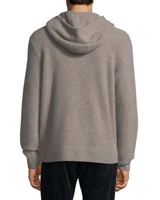 Image 3 of 3: Boiled Cashmere Pullover Hoodie