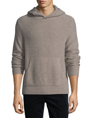 Image 1 of 3: Boiled Cashmere Pullover Hoodie