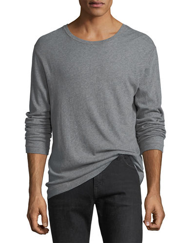Vince Cotton-Cashmere Long-Sleeve T-Shirt and Matching Items