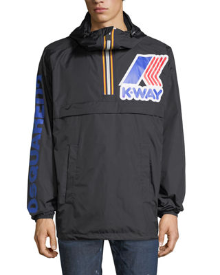 Dsquared2 x K-Way?? Short Reversible Nylon Packable Jacket