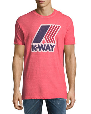 x K-Way® Crewneck T-Shirt
