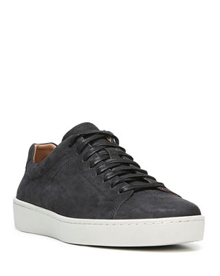 Vince Slater Washed Nubuck Low-Top Sneaker