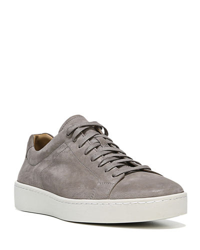 Men's Slater Washed Nubuck Low-Top Sneakers