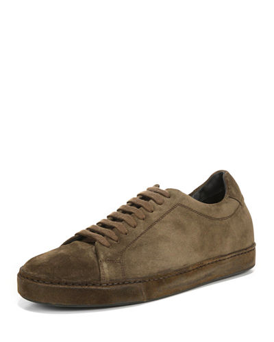 Men's Noble Sport Suede Low-Top Sneakers