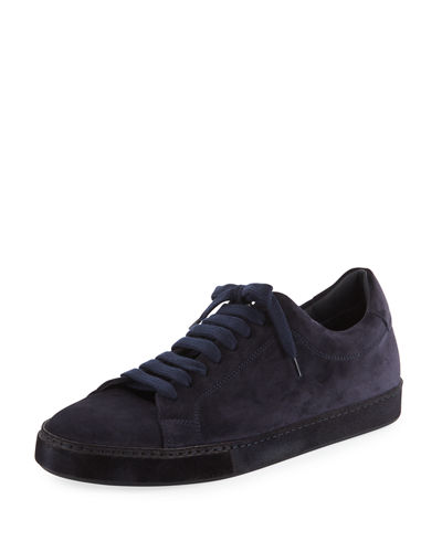 Vince Noble Sport Suede Low-Top Sneaker