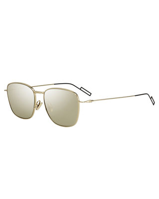 Dior Composit 1.1 Square Metal Sunglasses