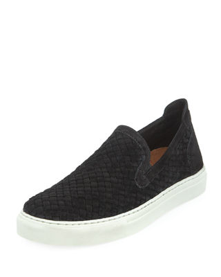 Image 1 of 3: Men's Clark Woven Velvet Slip-On Sneaker